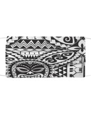 Polynesian Cloth face mask front