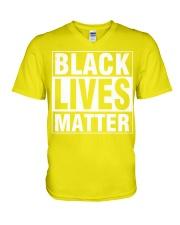 Human Rights V-Neck T-Shirt thumbnail