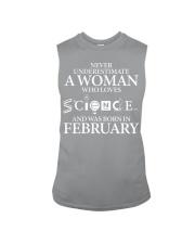 FEBRUARY WOMAN LOVE SCIENCE Sleeveless Tee thumbnail