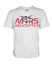Mars Helicopter V-Neck T-Shirt thumbnail