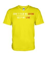 BLACK LIVES MATTER V-Neck T-Shirt thumbnail