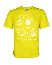 Science V-Neck T-Shirt tile