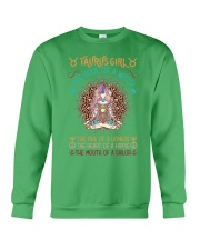 Taurus Girl The Soul Of A Witch Crewneck Sweatshirt thumbnail