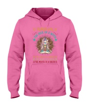 Taurus Girl The Soul Of A Witch Hooded Sweatshirt thumbnail