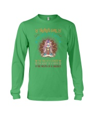 Taurus Girl The Soul Of A Witch Long Sleeve Tee thumbnail