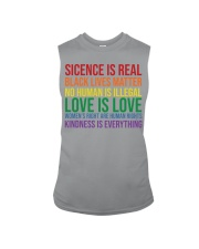 Science Is Real Black Lives Matter Sleeveless Tee thumbnail