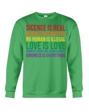 Science Is Real Black Lives Matter Crewneck Sweatshirt thumbnail