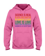 Science Is Real Black Lives Matter Hooded Sweatshirt thumbnail