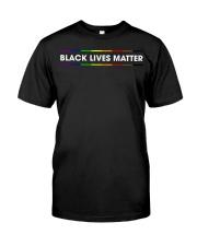 BLACK LIVES MATTER Classic T-Shirt front