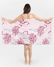 Flamingo Beach Towel aos-tc-beach-towels-lifestyle-front-01