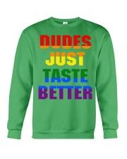 dudes just taste better Crewneck Sweatshirt thumbnail