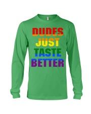 dudes just taste better Long Sleeve Tee thumbnail