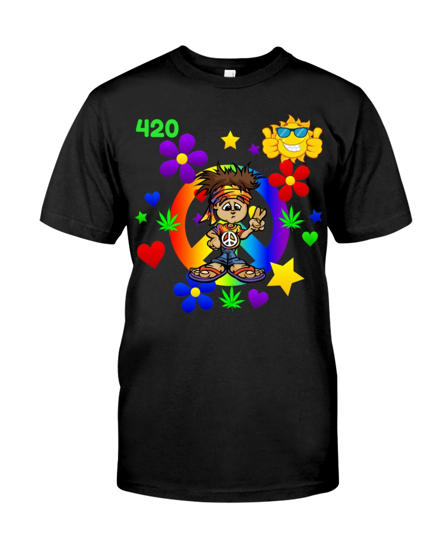 420 Hippie Classic T-Shirt
