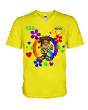 420 Hippie V-Neck T-Shirt thumbnail