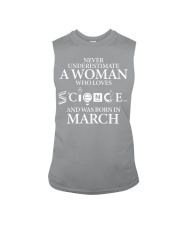 MARCH WOMAN LOVE SCIENCE Sleeveless Tee tile