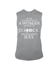 JULY WOMAN LOVE SCIENCE Sleeveless Tee thumbnail