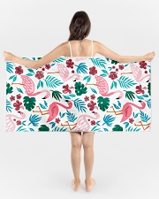 Flamingo Beach Towel aos-tc-beach-towels-lifestyle-front-01