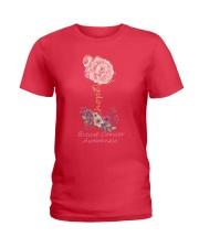 Rose Breast Cancer Awareness Ladies T-Shirt thumbnail