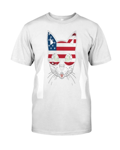 4th Of July Cute Cat Independence Day T  1