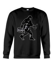 Beer Big Foot Crewneck Sweatshirt thumbnail