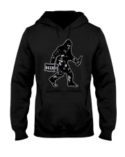 Beer Big Foot Hooded Sweatshirt thumbnail