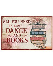 Dance And Books 36x24 Poster front