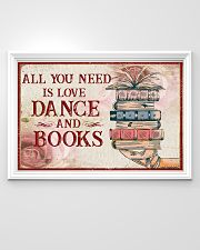 Dance And Books 36x24 Poster poster-landscape-36x24-lifestyle-02