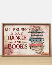 Dance And Books 36x24 Poster poster-landscape-36x24-lifestyle-03