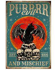 Cat Purrrr Evil 16x24 Poster front