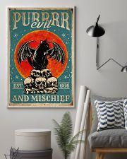 Cat Purrrr Evil 16x24 Poster lifestyle-poster-1