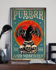 Cat Purrrr Evil 16x24 Poster lifestyle-poster-2