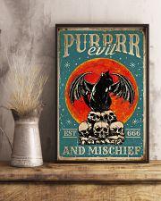 Cat Purrrr Evil 16x24 Poster lifestyle-poster-3