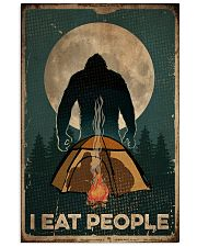 Bigfoot I Eat People 16x24 Poster front