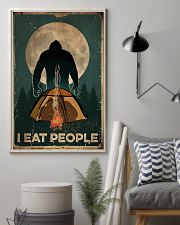 Bigfoot I Eat People 16x24 Poster lifestyle-poster-1