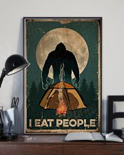 Bigfoot I Eat People 16x24 Poster lifestyle-poster-2