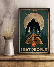 Bigfoot I Eat People 16x24 Poster lifestyle-poster-3