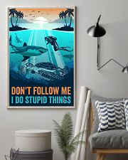 Ocean I Do Stupid things 16x24 Poster lifestyle-poster-1
