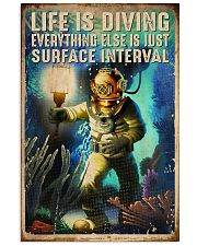 Scuba Life Is Diving 16x24 Poster front