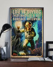 Scuba Life Is Diving 16x24 Poster lifestyle-poster-2