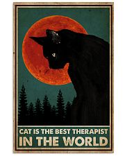 Cat Is The Best Therapist 16x24 Poster front