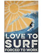 Surfing Love To Surf 16x24 Poster front