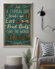 Book A Typical Day 16x24 Poster lifestyle-poster-1