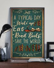 Book A Typical Day 16x24 Poster lifestyle-poster-2