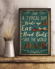 Book A Typical Day 16x24 Poster lifestyle-poster-3