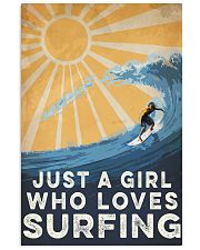 Surfing Just A Girl 16x24 Poster front