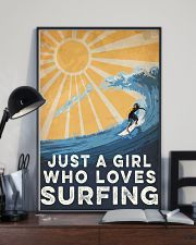 Surfing Just A Girl 16x24 Poster lifestyle-poster-2