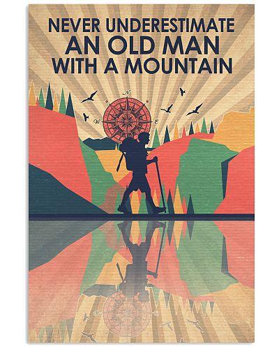 Hiking An Old man