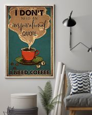 Coffee I Need Coffee 16x24 Poster lifestyle-poster-1
