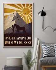 Horse I prefer Hanging Out 16x24 Poster lifestyle-poster-1