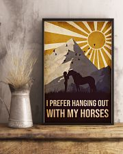 Horse I prefer Hanging Out 16x24 Poster lifestyle-poster-3